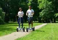 Airwheel (Segway) bérlés kertben