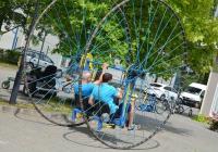 bicikli öröm trükkös