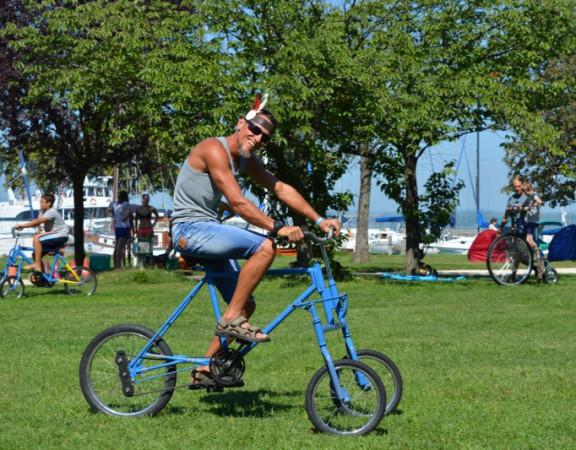 Trukkos bringak trukkos tricikli