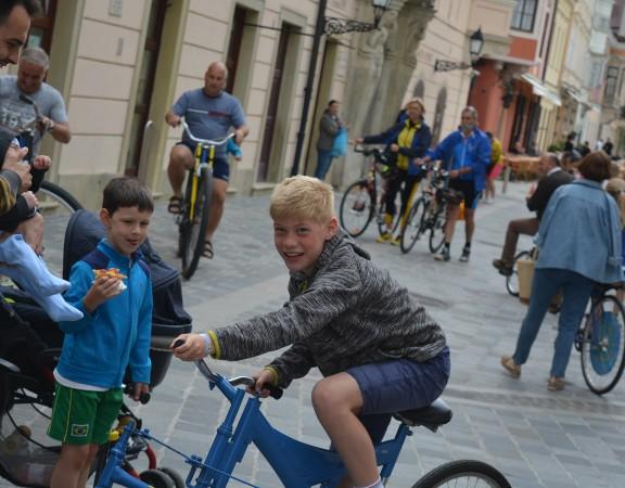 Győrkőc fesztivál trükkös trükkös tricikli