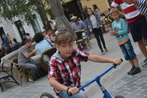 Győrkőc fesztivál hullámos bringa