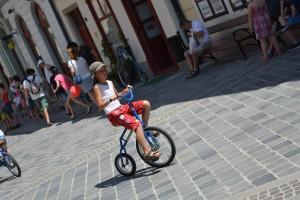 Győrkőc fesztivál kis velocikpéd