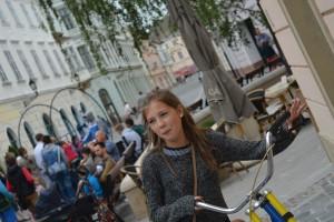 Győrkőc fesztivál trükkös bringák
