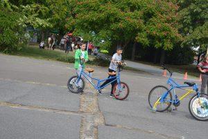 Autómentes nap Budapest 17. kerület - reverz bringa