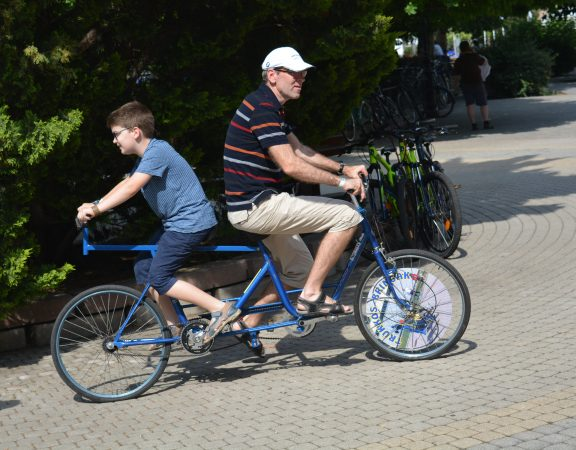 Michelin bringafesztivál Nyíregyháza - Trükkös bringák